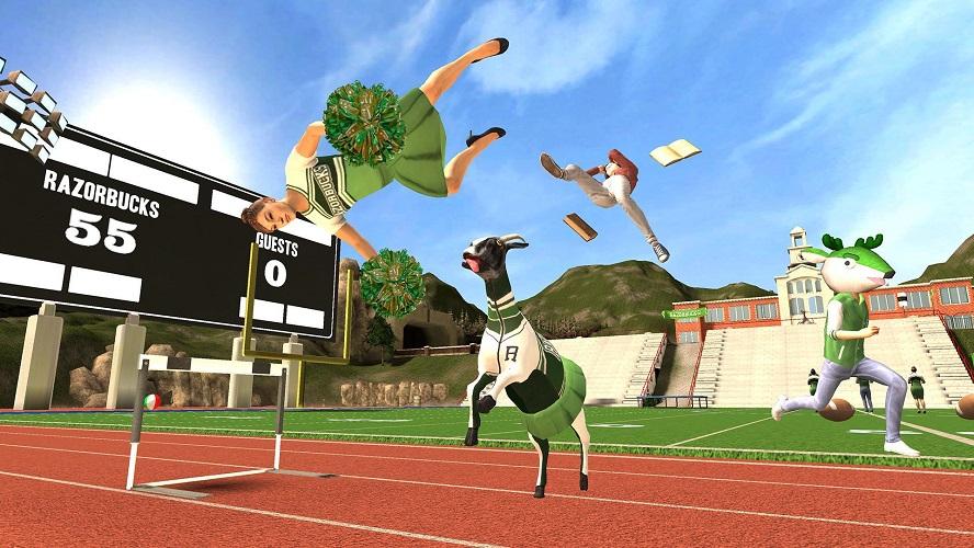 Les 5 jeux vidéo modernes les plus amusants - Goat Simulator